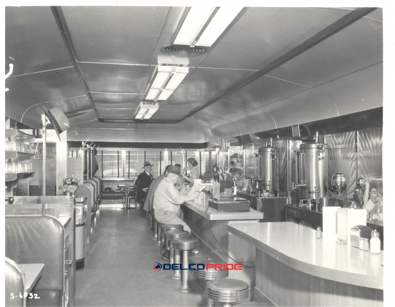 Fernwood Diner Inside- Circa 1950