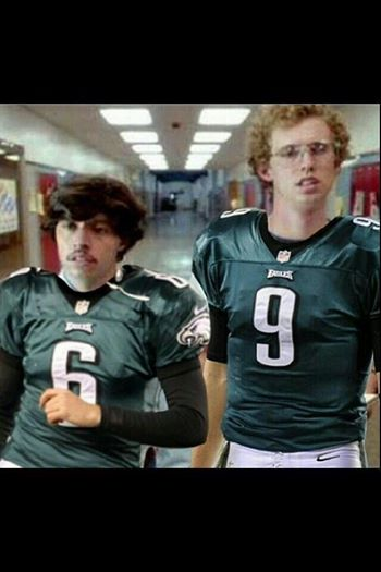 2014 New Eagles Quarterbacks