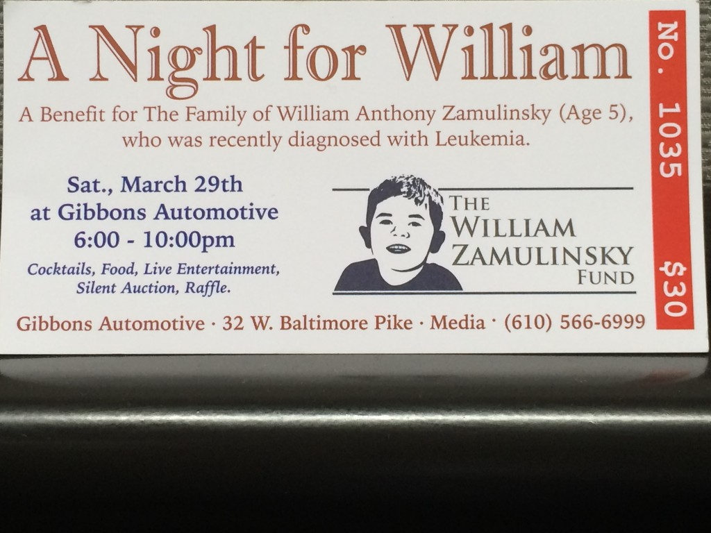 A Night for William