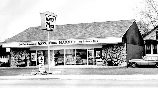Wawa's First Store in Folsom, PA 1964. (via Abandoned,Old and Interesting Places)