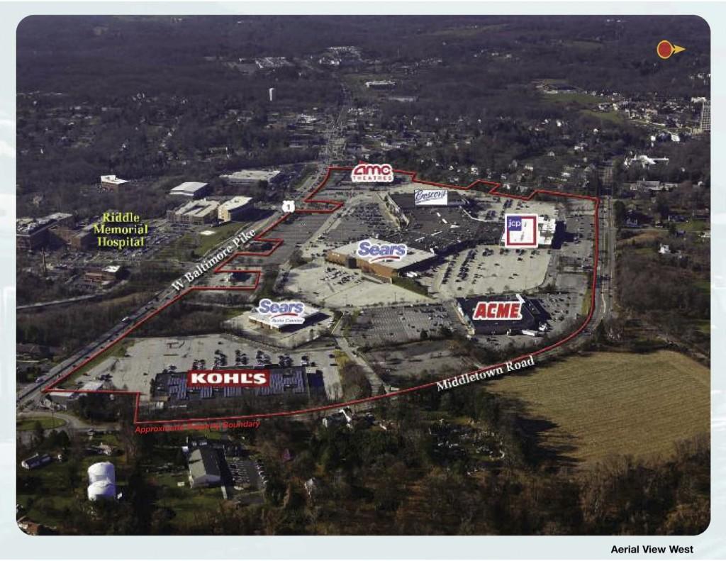 Aerial View of Granite Run property