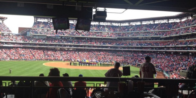 PHOTOS:Delco Does Phillies Opening Day