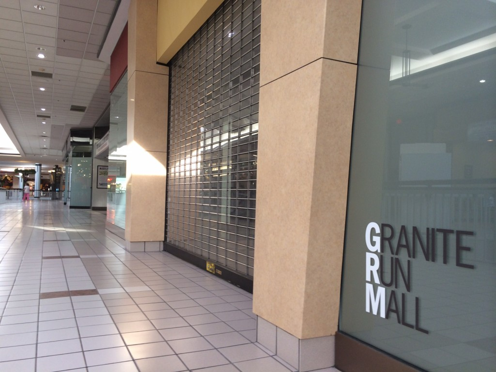 Granite Run Mall is more than half empty. Demolition could come in early 2015