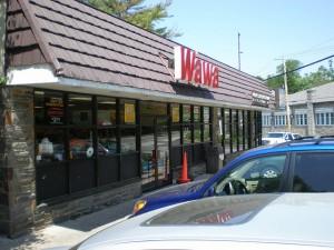 Wawa in Wallingford. Now closed.